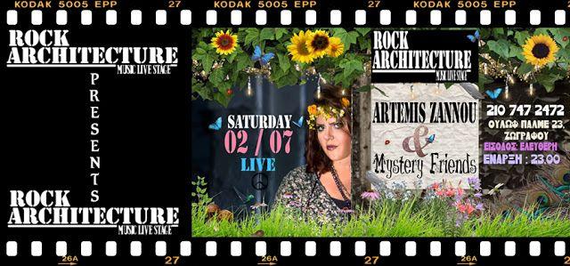 _____♪★ Artemis Zannou★Blog ★♫_____: Artemis Zannou & Mystery Friends-Live_Architecture...