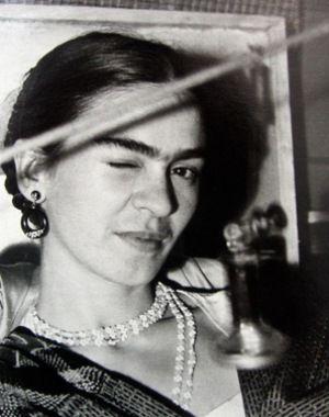 Frida Winking 1933 Lucienne Bloch
