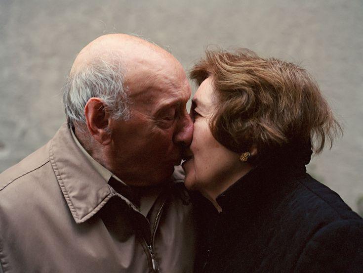 Gino e Angie Terranova, Staten Island, New York. Si sono sposati il 27 settembre 1947. - (Lauren Fleishman)