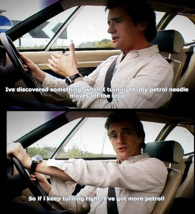 "When Richard's logic was flawless. | 27 Times ""Top Gear"" Made You Laugh Like Hell"