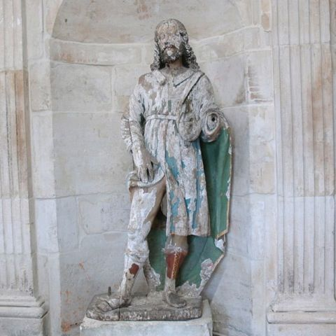 18th c. Statue of St. Roch