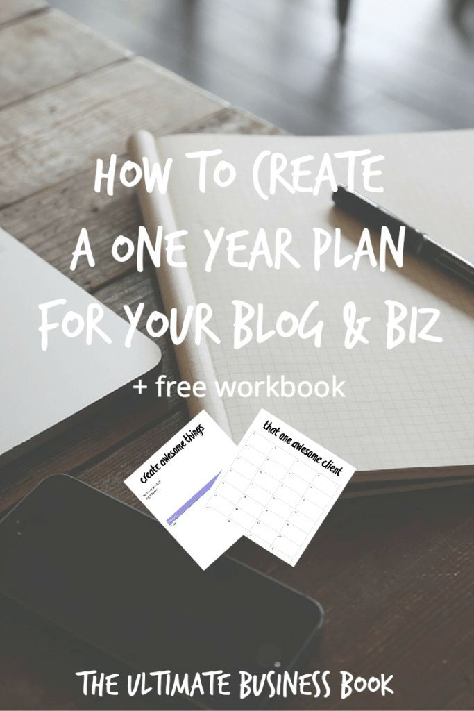 How to create a one year plan for your blog and business. Learn how to create a plan that will help you rock the new year with your blog and business. Oh, and did I mention you get an awesome fillable workbook that will help? It's FREE guys. Get it now!
