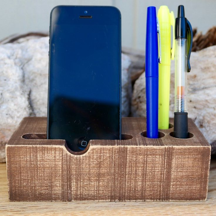 Rustic Charging Station