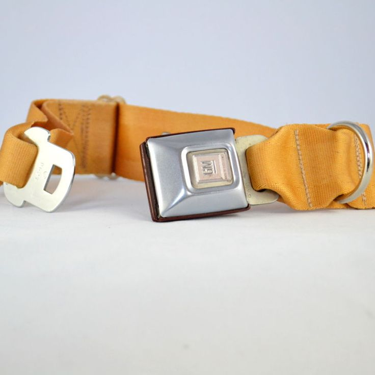 wide vintage dog collar with buckle Using unique colours of the vintage recycled seat belts and seat belt buckle to make a stylish collar for large dogs All our bags and accessories are handmade with 100% recycled seat belts. Each belt has been thoroughly cleaned and hand picked for your bag. Sizes: large:     …