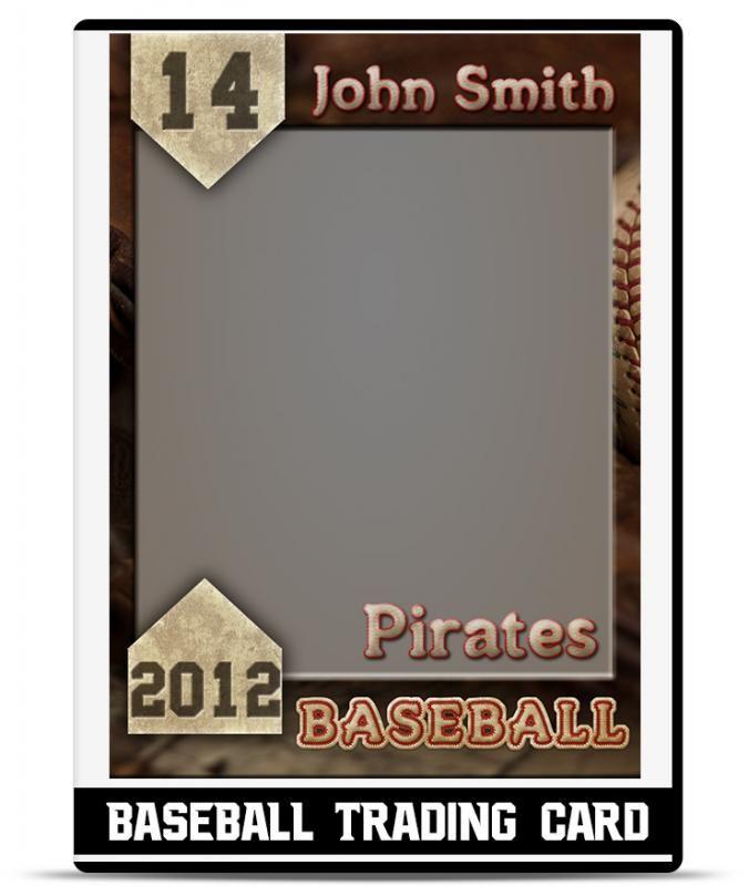 Free Trading Card Template Baseball Card Template Trading Card Template Card Templates Free