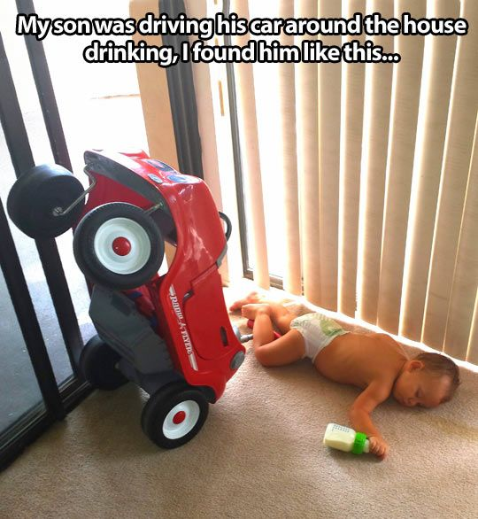 Why you shouldn't drink and drive…