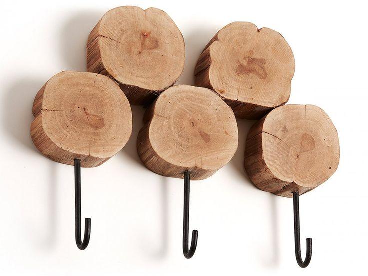 Wieszak Line — Wieszaki i haczyki LaForma — sfmeble.pl  #wood  #natural  #homedesign