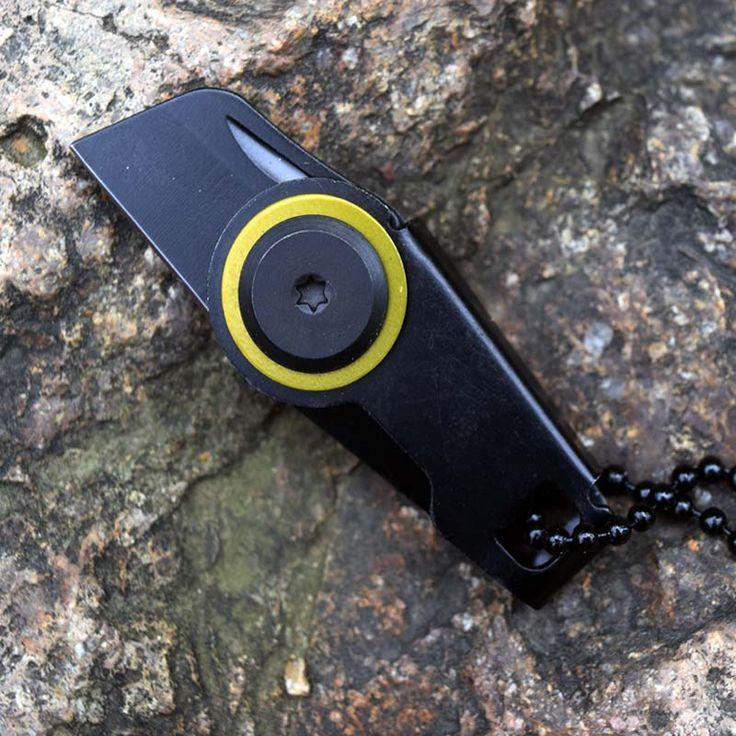 Mini Size  Knife Pocket Survival Pocket  EDC Gear Survival Self-defense Defense Spikes Multifunctional Camping Outdoor Tool
