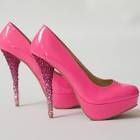 Whats Better Then Pink Sparkly heels! NOTHING!