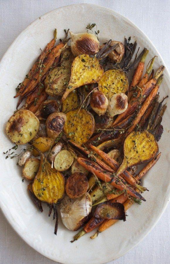 Roasted Winter Veg