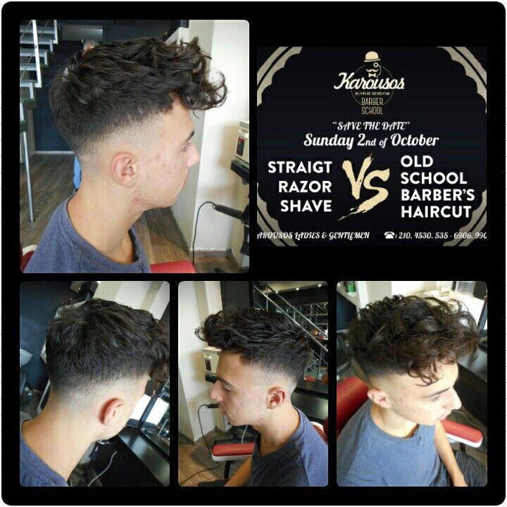 #karousos #barber #gentlemen #sundayseminar #oldschool #freestyle #curlstyle