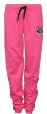 8. Favorite Summer Wear:  Pink jogging pants with big pockets to hold knitting accessories.