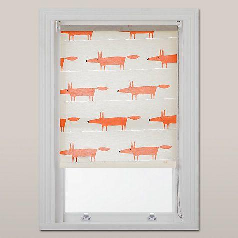 Buy Scion Mr Fox Roller Blind, Natural Online at johnlewis.com