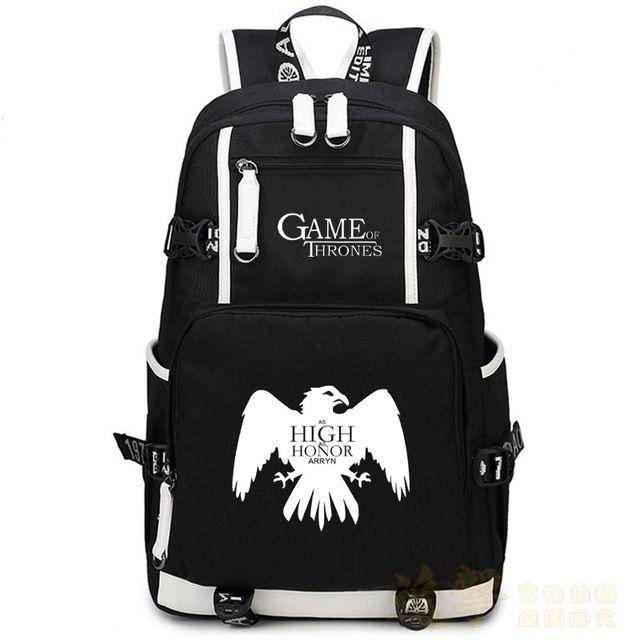 Game of Thrones School Backpack //Price: $59.98 & FREE Shipping //     #thatsthespirit #TBRs #GoT