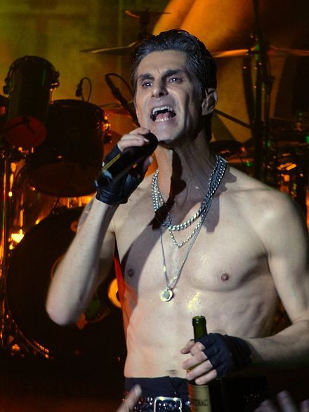 Perry Farrell performing with Jane's Addiction at BFD 2012. His real name is Perry Bernstein.