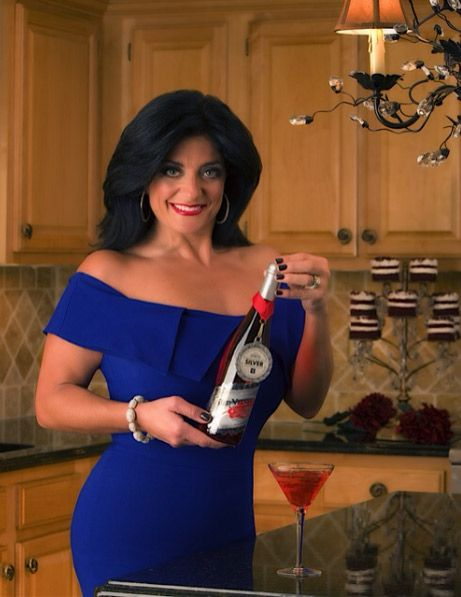 Red Velvet Cosmo cocktail by Kathy Wakile from Real Housewives of New Jersey...sounds good!