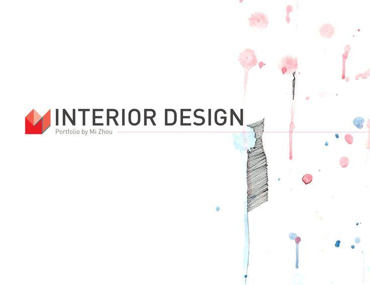 16 Best Interior Design Portfolio Cover Images On Pinterest Interior Design Portfolios