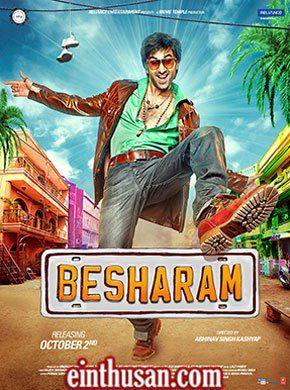 Besharam Hindi Movie Online - Ranbir Kapoor and Pallavi Sharda. Directed by Abhinav Kashyap. Music by Lalit Pandit. 2013 [U/A] Blu-Ray w.eng.subs