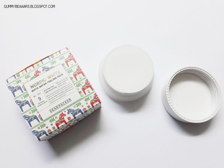 REVIEW: DearPacker Nordic White Water Peeling Pack - R's Beauty Diary ♥