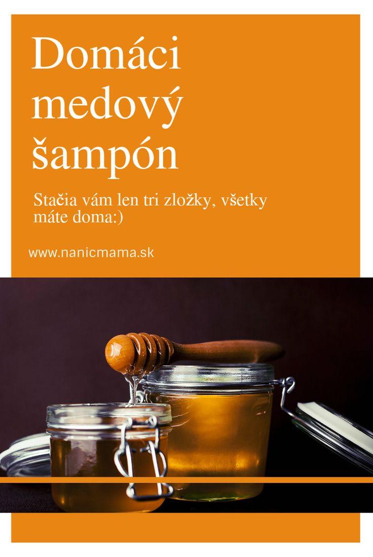 Domáci medový šampón  - 2 lyžice medu - teplá voda podľa potreby - dve kvapky oleja