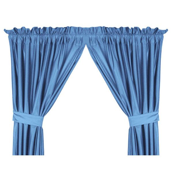 "North Carolina Tar Heels (UNC) 82"" x 63"" Short Drapes - $39.99"