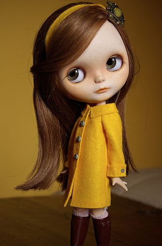 Just because I love Blythe dolls.