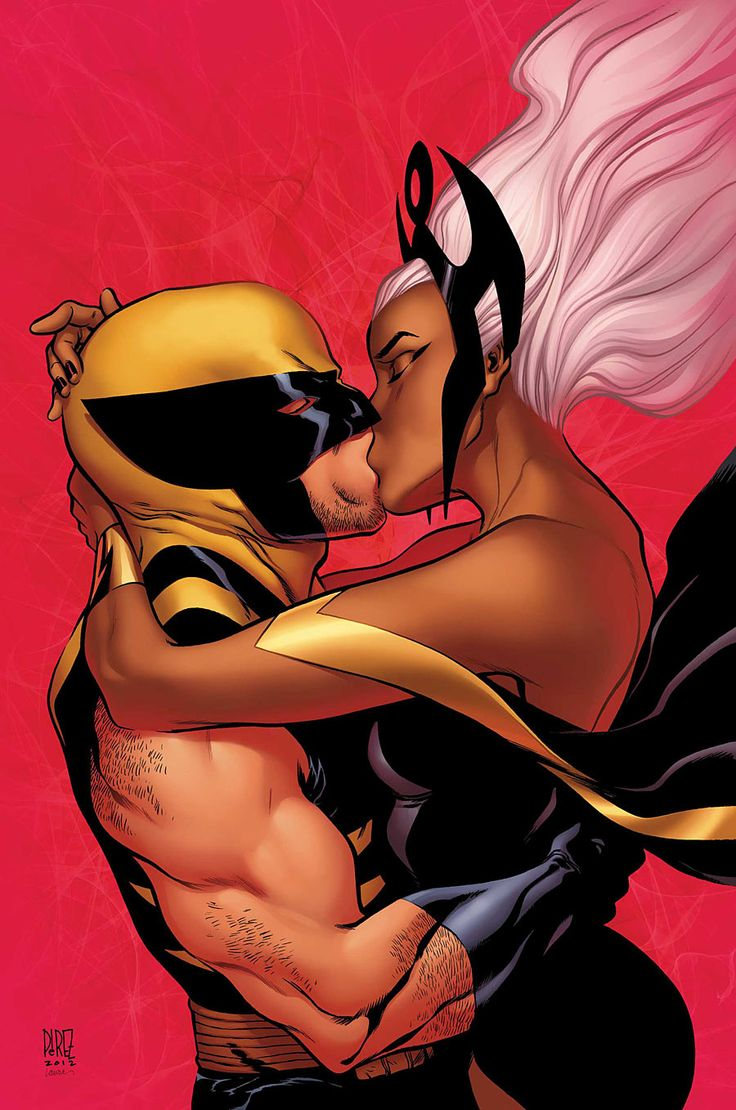 Wolverine & The X-Men #24. Cover by Ramon Perez.