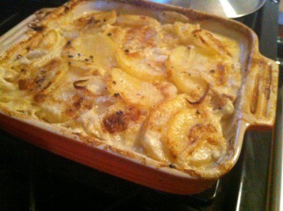 Scalloped pot | Yummy! | Pinterest