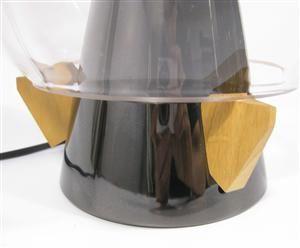 Umberto Riva Veronese lamp Umberto Riva lightsculpture / table lamp model Veronese, manufactured by Barovier & Toso Italy 1984