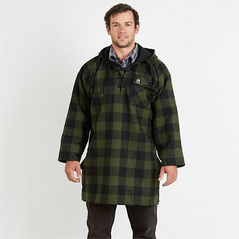 Swanndri Iconic Hard Wearing Wool Bush Shirts Swanndri