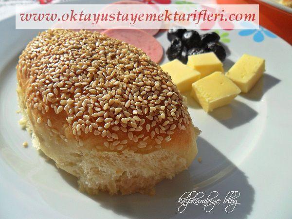 İçli Simit- Kaşar peynirli Sosisli Simit