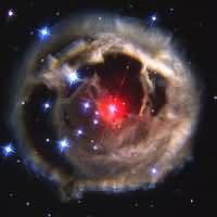 Light Echoes From Red Supergiant Star V838 Monocerotis - December 2002