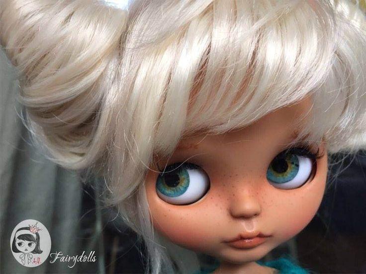 OOAK Custom Blythe Doll, Handmade Doll by AMFairydolls on Etsy https://www.etsy.com/listing/503480328/ooak-custom-blythe-doll-handmade-doll