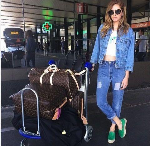 Chiara Ferragni #airport #style