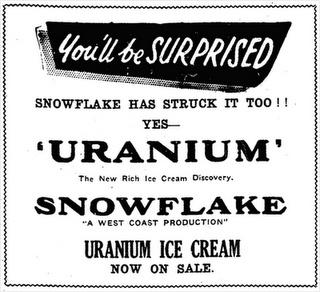 """""""radio"""" gelato per fortuna non radioattivo ma pubblicizzato come tale!"""