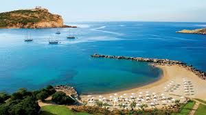 Amazing beach in Sounion