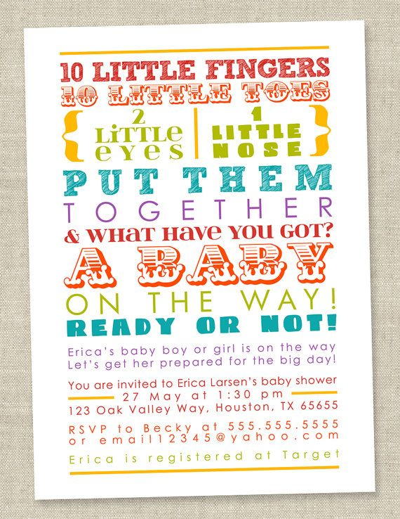 45 best Baby Shower Invitations images on Pinterest Shower - invitation wording for baby shower