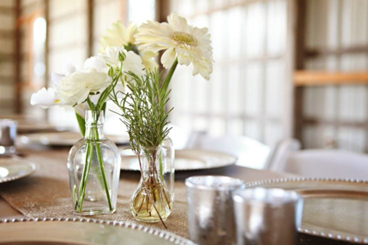 Wildflowers centerpiece