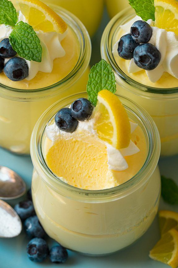 Lemon Cheesecake Mousse | Cooking Classy