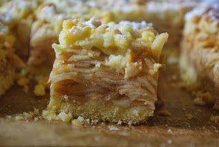 Polish style apple cake - szarlotka.