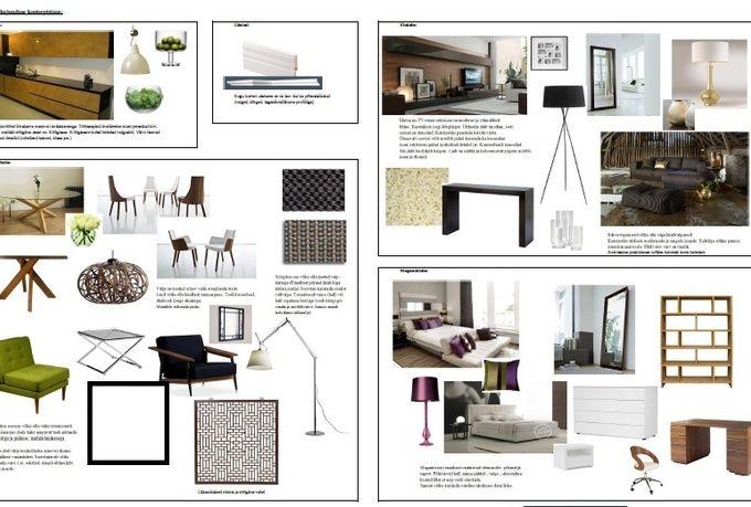 perfect interior design concept board with will make
