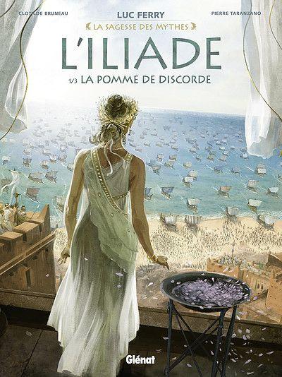 Feuilletez en ligne les premières planches de L' iliade - Tome 1