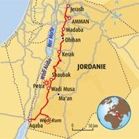 Circuit carte Jordanie : Balade jordanienne