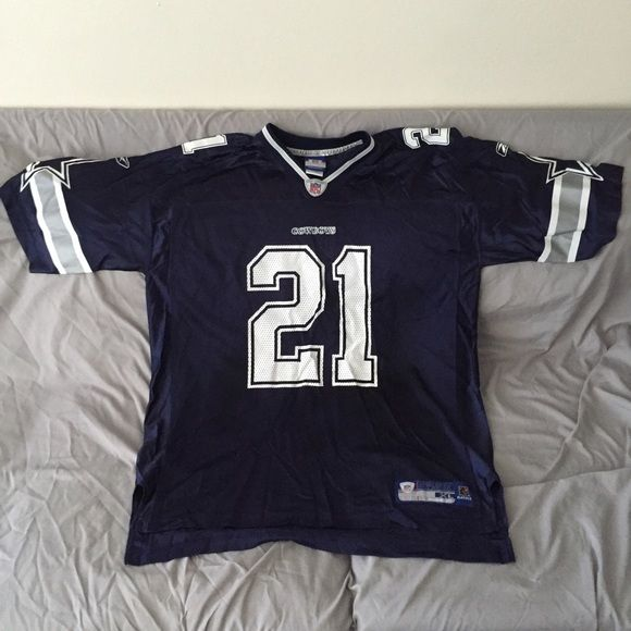 Dallas Cowboys Julius Jones #21 Reebok Tops