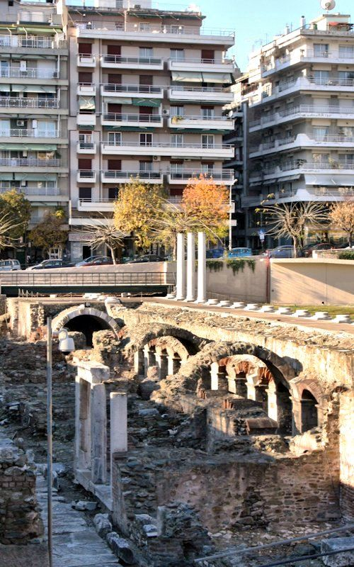 Explore Macedonia:  Ruins.. Thessaloniki, Greece (Dave's Photos)