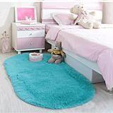 Ultra Soft Children Rugs Room Mat Modern Shaggy Area Rugs Home Decor 2.6' X 5.3'