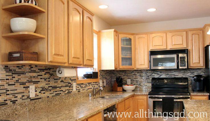diy kitchen backsplash the tile is riviera beach from