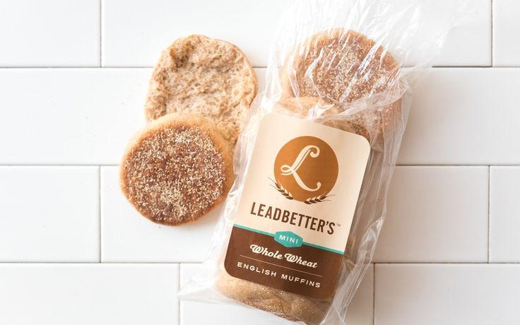 Leadbetter's Whole Wheat English Muffins Minis x 2