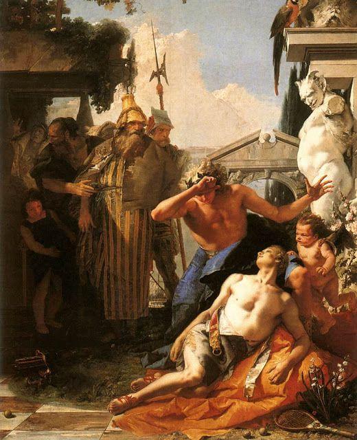 Ο θάνατος του Υάκινθου. (1752-53)