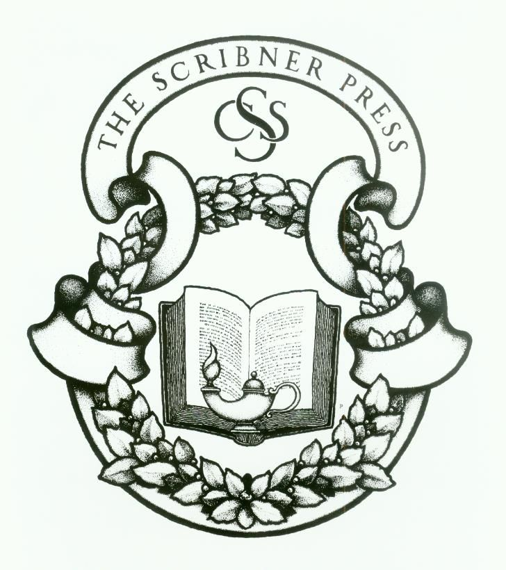 Maxfield Parrish designed a colophon device for the Scribner Press. The Scribner logo, with its three key elements of burning antique (Greco-Roman) lamp, books, and laurel wreath, dates back to the Beaux-Arts architect Standford White's original design for the cover of Scribner's Magazine (January 1887). http://library.princeton.edu/libraries/firestone/rbsc/aids/scribner/